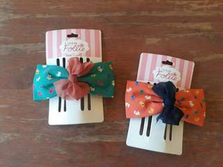 Ribbon Hairclips