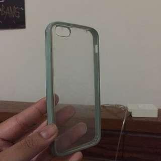 Clear Bumper Case (Iphone 5)