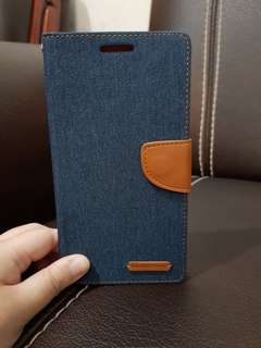 Book View Cover Jelly Jeans Samsung Note 4