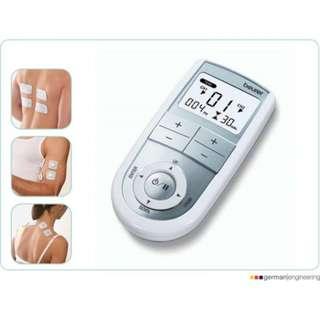[**Price reduced**] BEURER EM 41 DIGITAL TENS/EMS (Transcutaneous electrical nerve stimulation/ Electronic muscle stimulation)