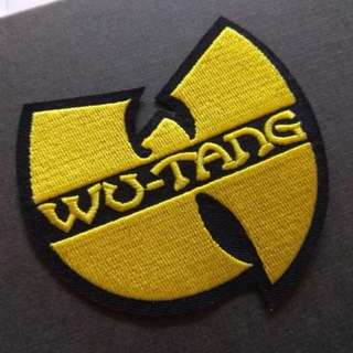 Wu-Tang Logo Iron On Patch