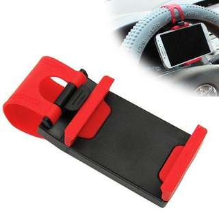 Universal Car Steering Wheel Stand Mount Holder Clip