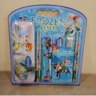 Stationery Set 9-in-1 Frozen Design