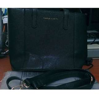 CHARLES & KEITH Tote Bag For Women - Black