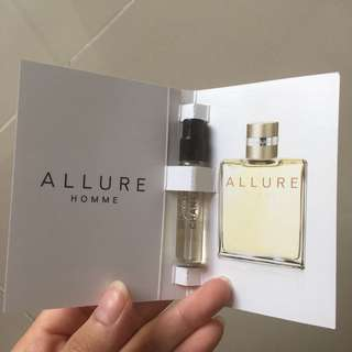 chanel vial perfume allure homme
