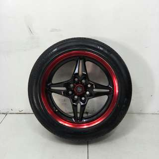 15 '' Sports Rim With Tyre 4x100 4x114.3 (SR1048)