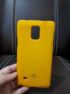 Jelly Case Kuning Samsung Note 4