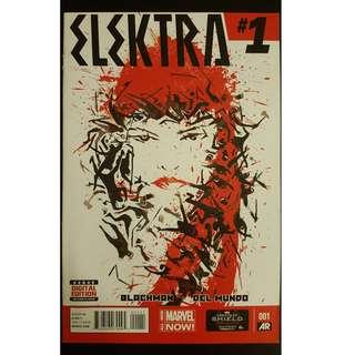 Elektra #1 (2014 Marvel 3rd Series)- 1ST ISSUE!