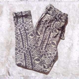 F21 | Tribal High-waist Pants