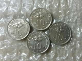 4pcs  2003. 10cent