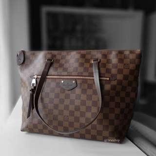 Authentic Louis Vuitton Damier Ebene Iena MM N41013
