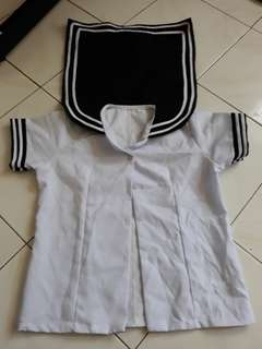 Anime costume blouse