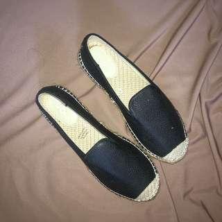 Black Slip-ons