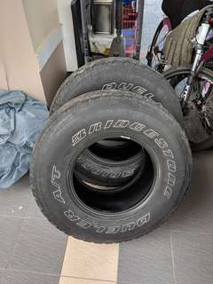 Tayar 4WD Bridgestone made in Japan
