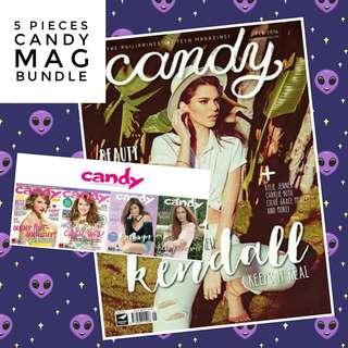 5pcs CANDY Magazine BUNDLE! 💕