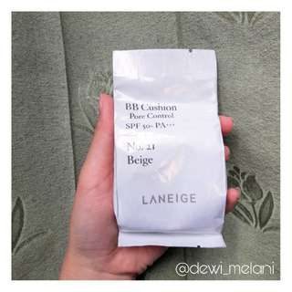 [NEW] Refill Laneige BB Cushion Pore Control