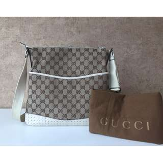 GUCCI 145857 GG SHOULDER BAG