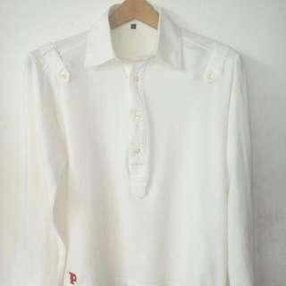 Kaos Lengan panjang made in france size L=M