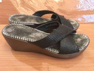 Rusty Lopez Womens Sandals Wedge Size 36