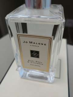 Jo Malone👸👸👸 香水伯爵茶與小黃瓜 Earl Grey & Cucumber Cologne 100ml