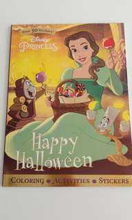 Disney Princess -coloring, activities, stickers