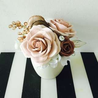 Mother's Day Special (clay Flower Arrangement)