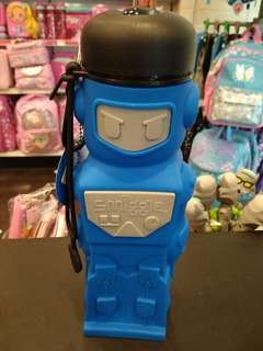 Ready Stock Smiggle Silicone Robot Water Bottle