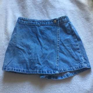 Denim Short/Skirt for Kids