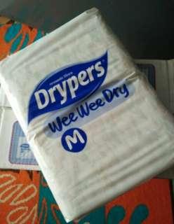 Drypers wee wee dry size M (52pcs)