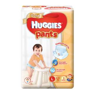 Instocks BN Huggies Gold Pants
