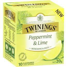 Peppermint & Lime 10 Tea Bags