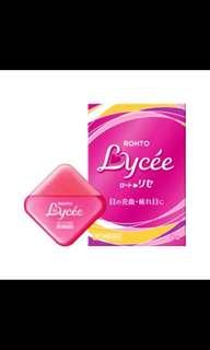 Rohto Lycee Eyedrops for contact lens or non-contact lens 8ml