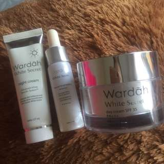 100k Take All🔥Paket Wardah White Secret
