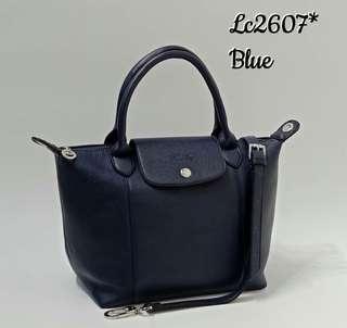 Longchamp Neo Cuir Dark Blue Color