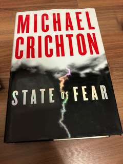 Michael Crichton State of Fear (fiction)