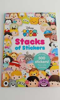 Disney Tsum Tsum - Activities,  500 stickers