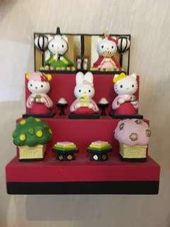 絕版 日本和服 Hello Kitty 擺設 2001年 daniel mimi