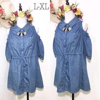 Soft Denim Dress B8