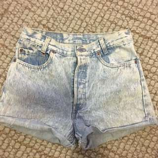Levi's cut of shorts