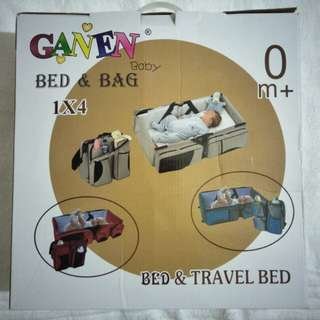 GANEN Baby Bed and Bag