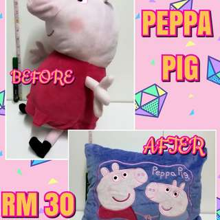 Peppa Pig Toys + Pillow
