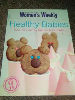 Womans Weekly, Healthy Babies Recipe Book