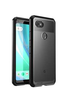 (Ready) Supcase UB Clear Case for Google pixel 2 XL - black