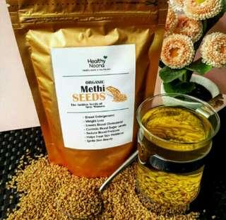 Methi Seeds ( Pembesar payudara & Pelangsin alami )