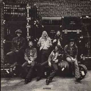 The Allman Brothers Band ‎- The Allman Brothers Band At Fillmore East CD