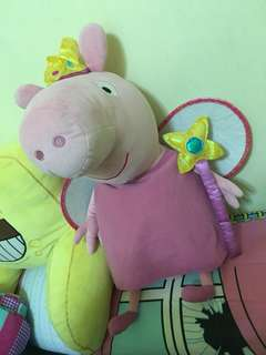 PRINCESS PEPPA/SOFT TOYS