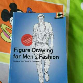 Book Figure Drawing for men's Fashion & Book Art Nouveau + CD Rom