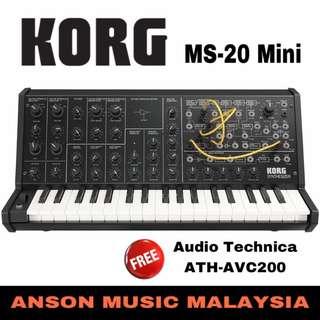 Korg MS-20 Mini 37 Key Analog Synthesizer