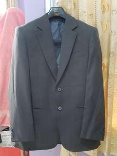 Stelan jas dark grey