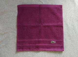 Authentic Lacoste Hand Towel